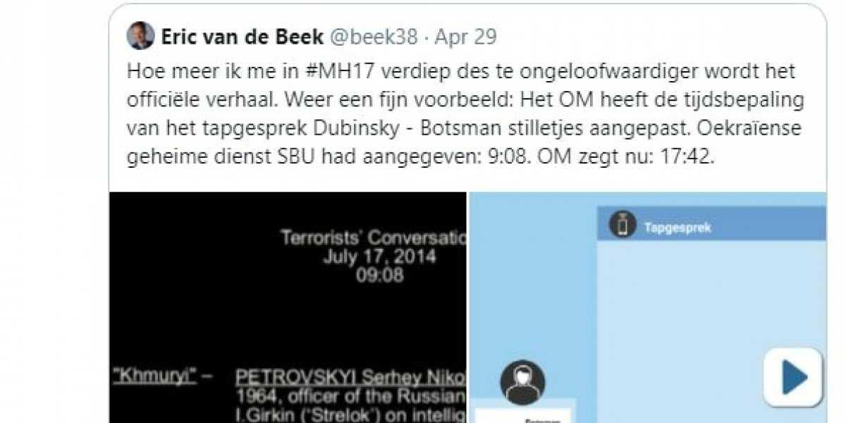 В Нидерландах  поймали за руку  прокуроров, подменивших данные СБУ в деле MH17